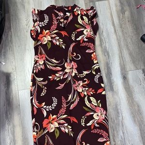 Floral mid length dress from NY & Co.
